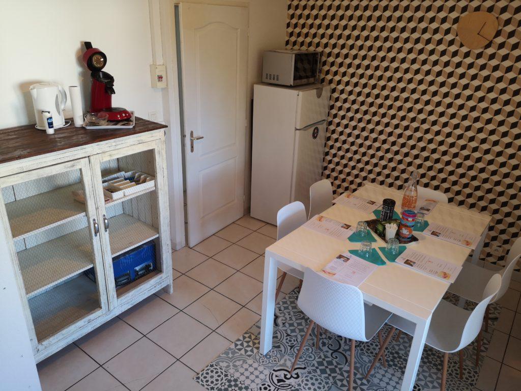 cuisine appartement pédagogique L'alchimine