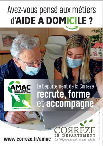 Communication AMAC métiers de l'aide à domicile avec marie Vosghien L'alchimine
