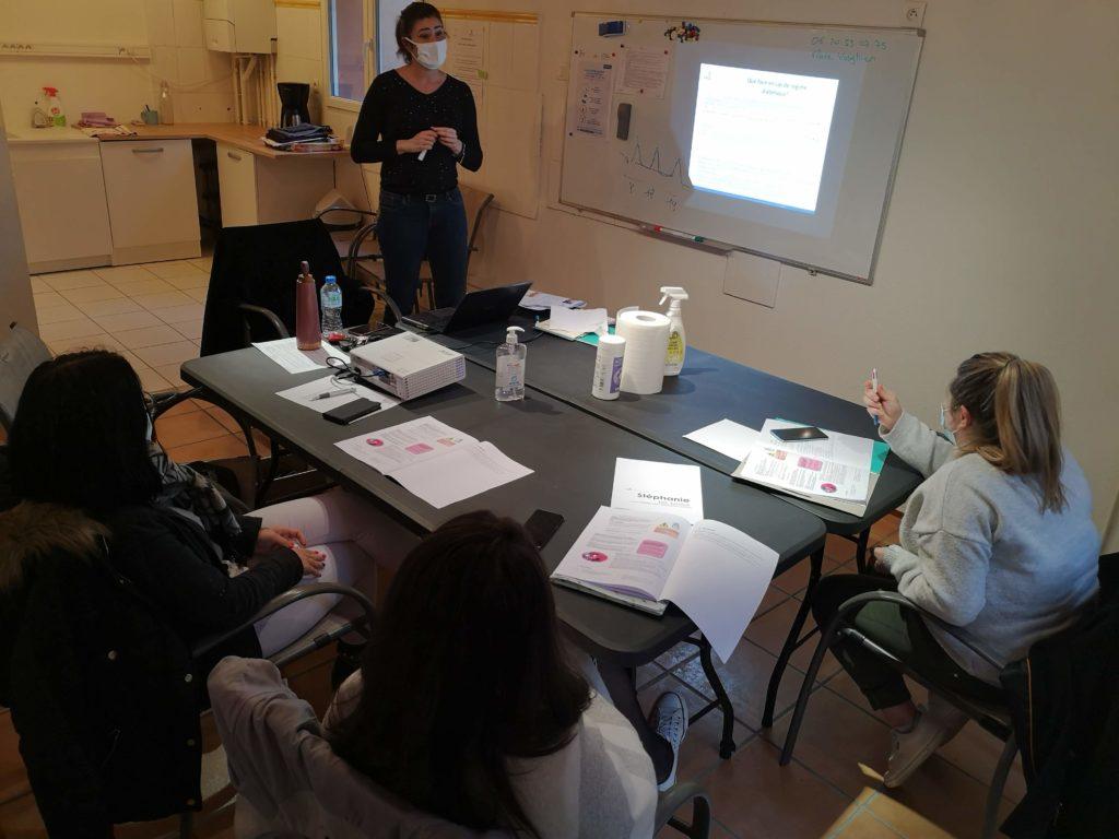 Appartement pédagogique métiers de l'aide à domicile L'alchimine Occitanie