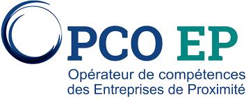 logo OPCO EP Opérateur de compétences des Entreprises de Proximité
